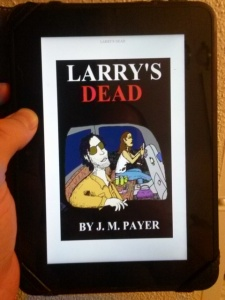 3 The cover of Larry's Dead s